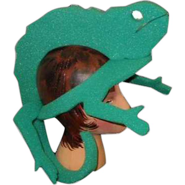 Customized Foam Animal Hat - Lizard 2