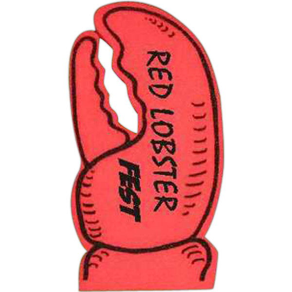 Promotional Foam Lobster Claw Mitt - 19""