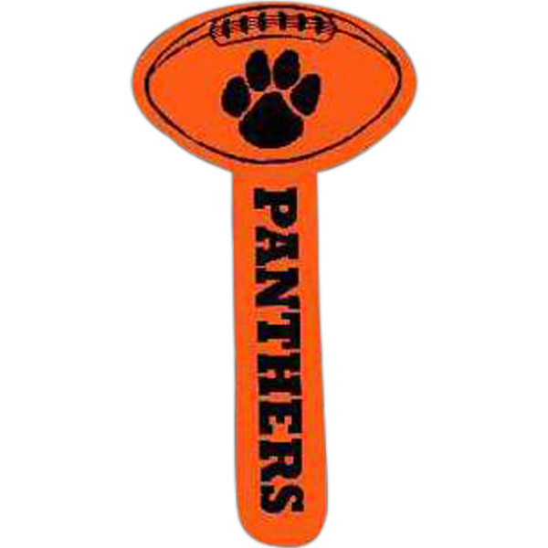 Personalized Foam Spirit Waver (TM) Sports Stick - Football