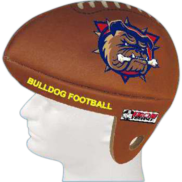 Custom Foam Sports Hat - Football Shaped