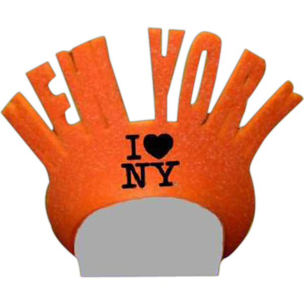 Custom Foam Visor Headwear - New York