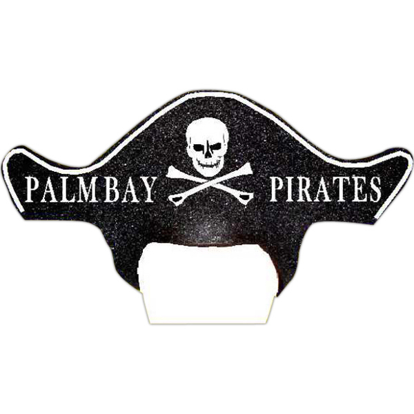 Customized Foam Visor Headwear - Pirate Hat