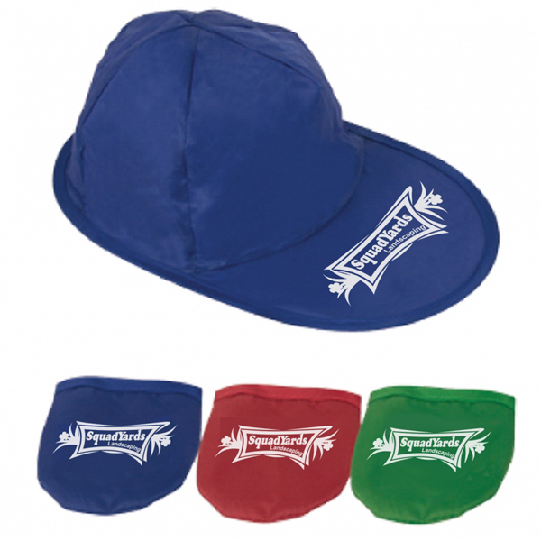 Imprinted Foldable Baseball Hat