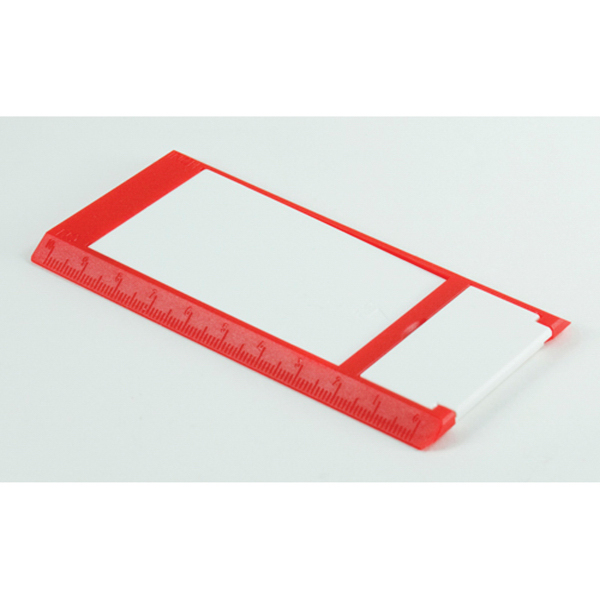 Imprinted Folding Media Stand and Ruler