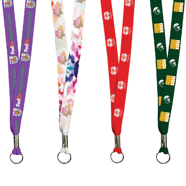 """Promotional Full Color Imprint Smooth Dye Sublimation Lanyard - 36"""""""