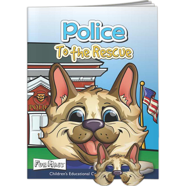 Custom Fun Masks - Police to the Rescue