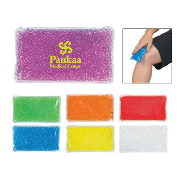 Personalized Gel Beads Hot/Cold Pack