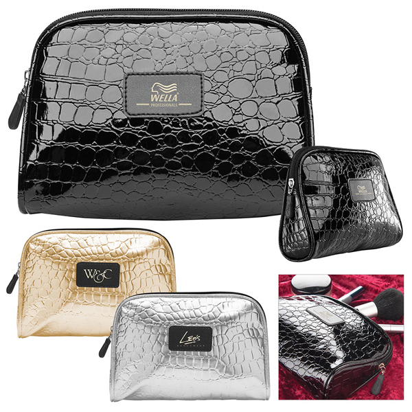 Imprinted Glam-Up Accessory Bag