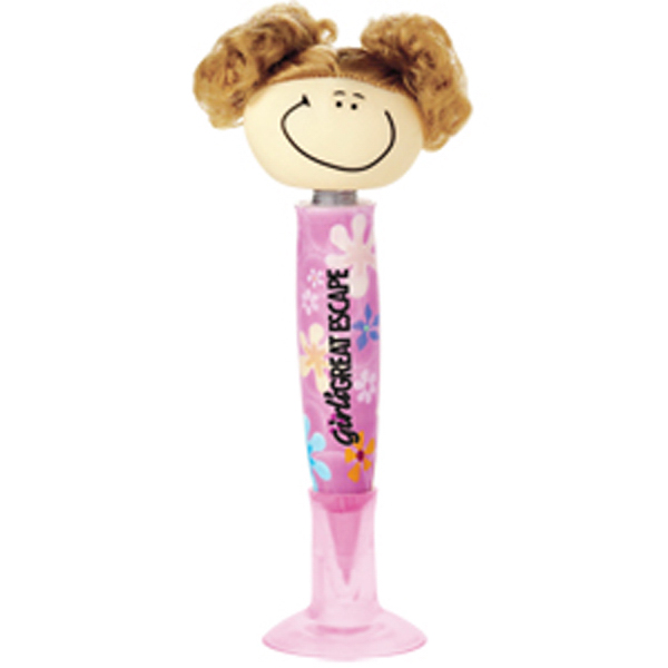 Printed Goofy Girl Pen