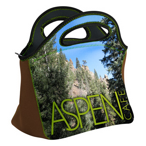 Customized Gran Klutch Neoprene Lunch Bag - Four color process