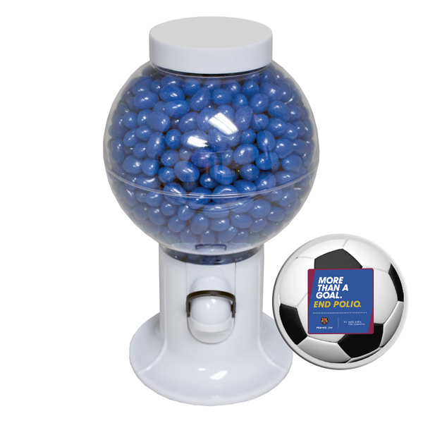Custom Gumball Machine with Corporate Jelly Bean Candy