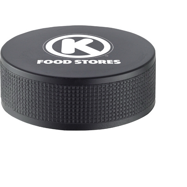 Personalized Hockey Puck Stress Reliever