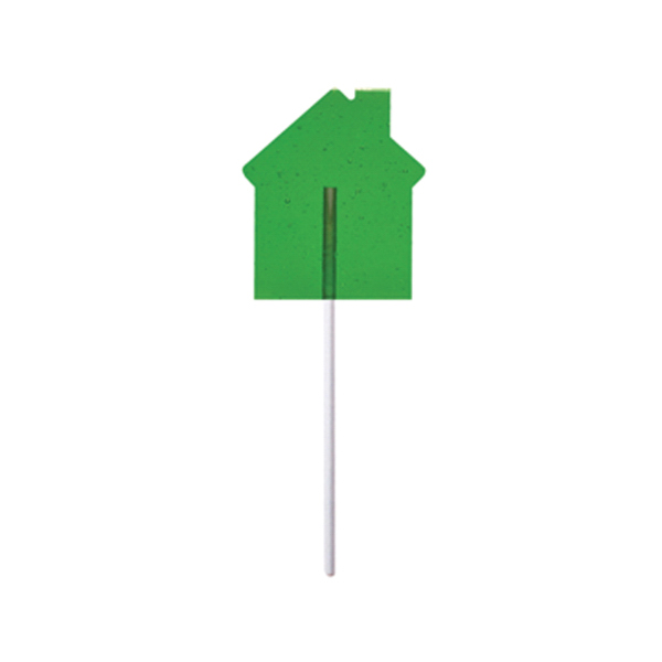 Personalized House Fun Size Price Buster Lollipop