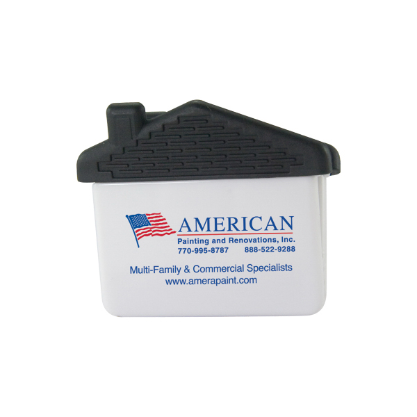 Promotional House-Shaped Magnet Clip