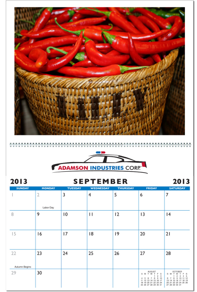 Customized In the Image Pesonalized Wall Calendar