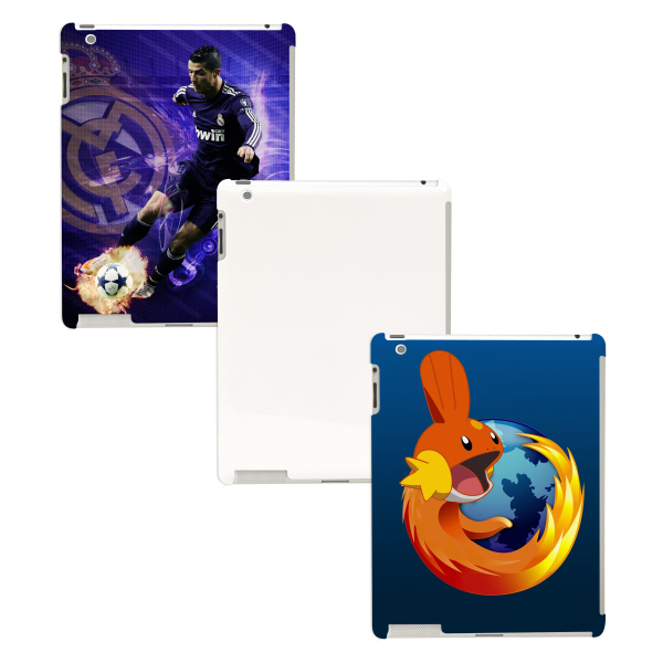 Customized iPad 2/3/4 3D Full Wrap Polymer Case (Matte Finish)