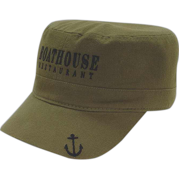 Customized Low Profile Military Style Cap