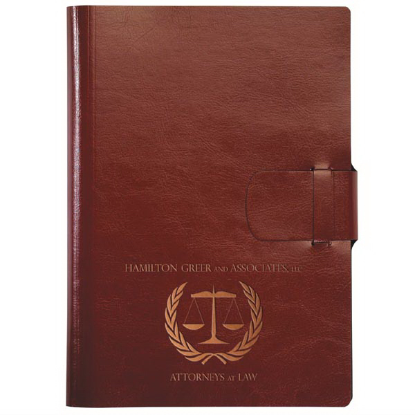 Customized MaderaWrap Journal -  with Strap Closure