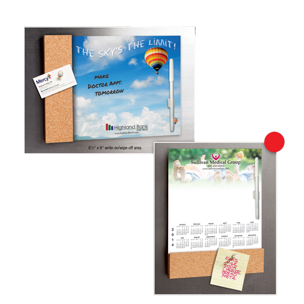 Promotional Magnetic Calendar Cork Memo Board