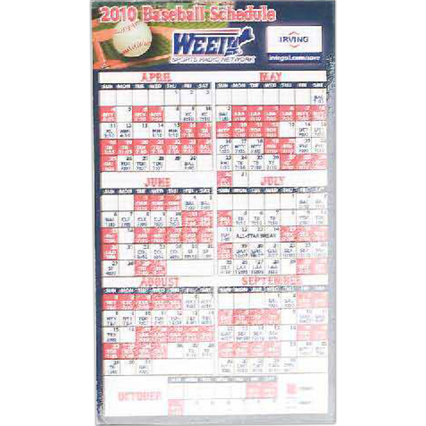 Promotional Magnetic Calendars and Schedules
