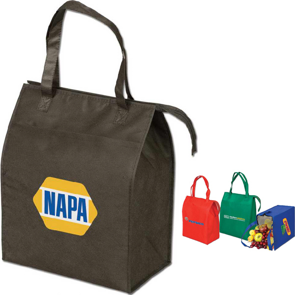 Custom Medium Insulated Grocery Tote Bag