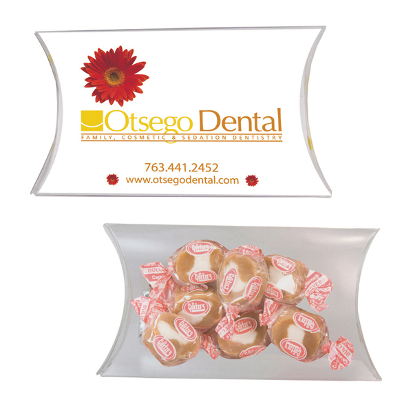 Promotional Medium Pillow Pack with Caramel Chew
