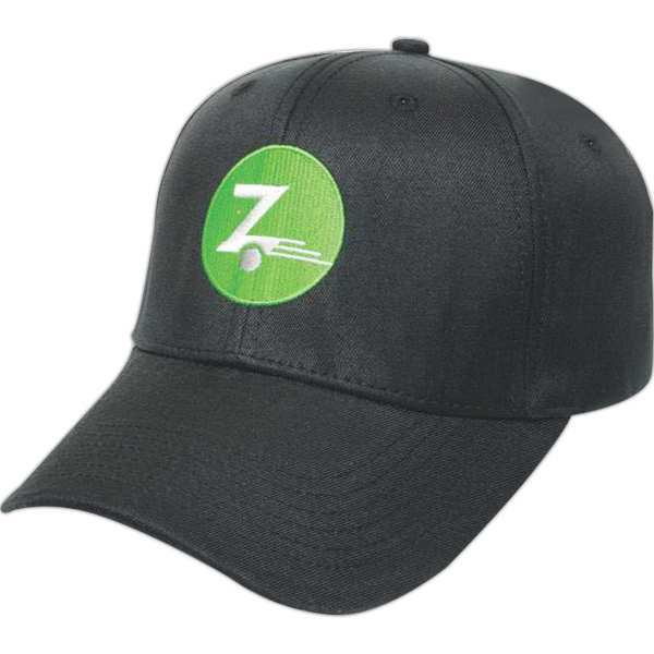 Custom Medium Profile Poly Cotton Cap