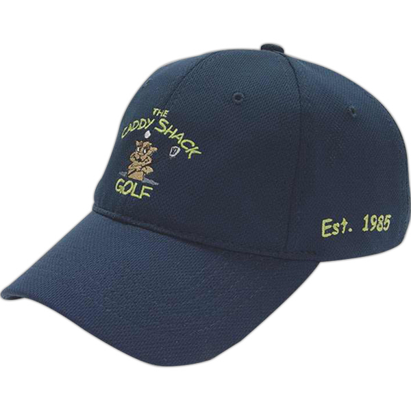 Imprinted Medium Profile Wicking Mesh Cap
