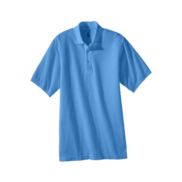 Promotional Men's Short Sleeve Soft Touch Blended Pique Polo