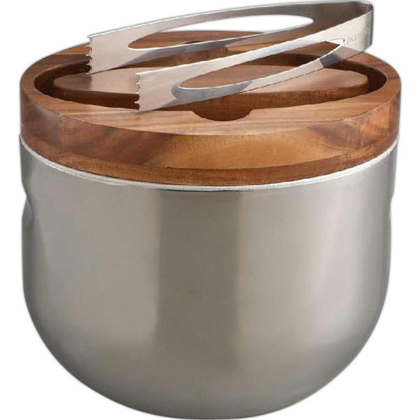 Personalized Mikko Ice Bucket with Tongs