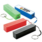 Personalized Mobile Power Bank with Keyring