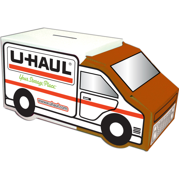 Promotional Moving Truck Bank - Custom Designed