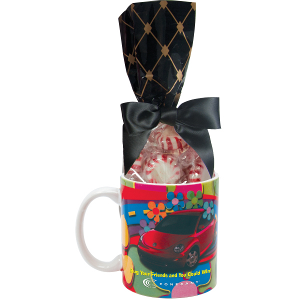 Customized Mug Stuffer Gift Bag with Starlite Mints
