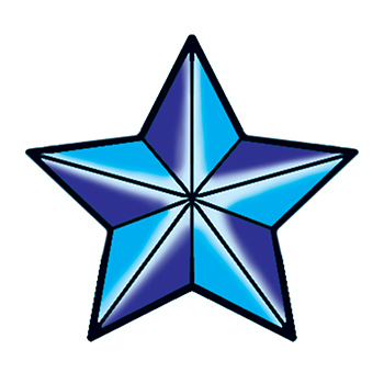 Promotional Nautical Star Temporary Tattoo