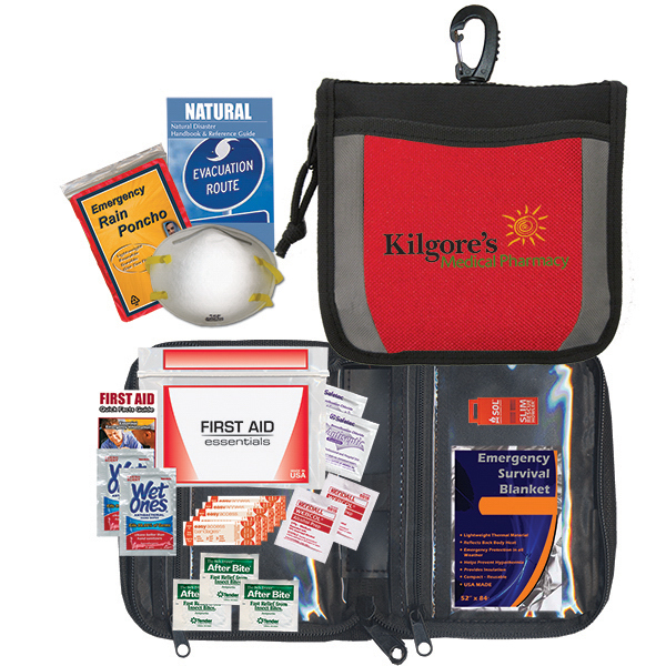 Imprinted New! Disaster Preparedness Kit