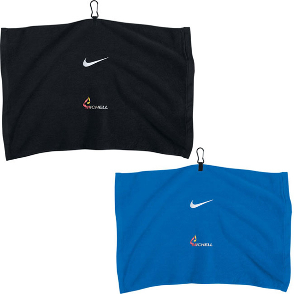 Customized Nike (R) Embroidered Towel