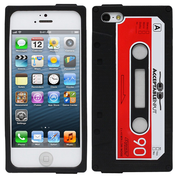 Imprinted Novelty Cassette Tape iPhone Case
