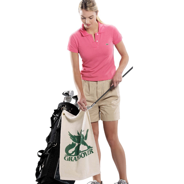 Personalized Organic Turkish Cotton Terry Golf Towel