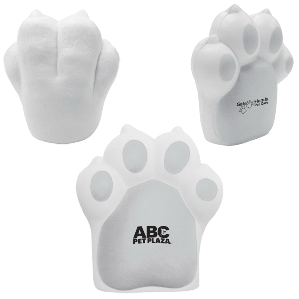 Customized Pet Paw Stress Reliever