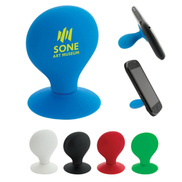 Imprinted Phone Stand with Suction Cup