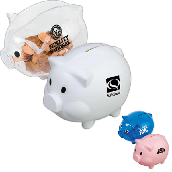 Personalized Piggy Shaped Bank