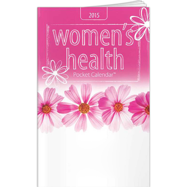 Custom Pocket Calendars - 2015 Women's Pocket Calendar & Guide