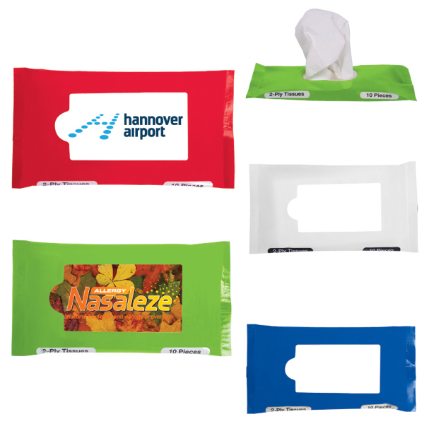 Customized Pocket/Travel Facial Tissues