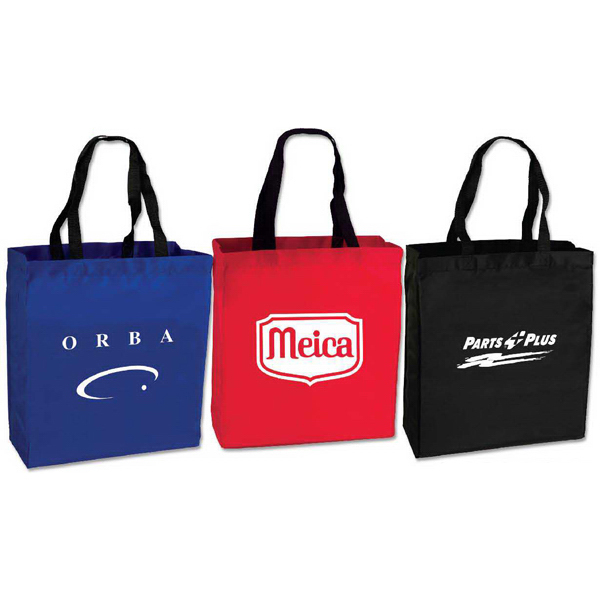 Customized Polyester Trade Show Tote
