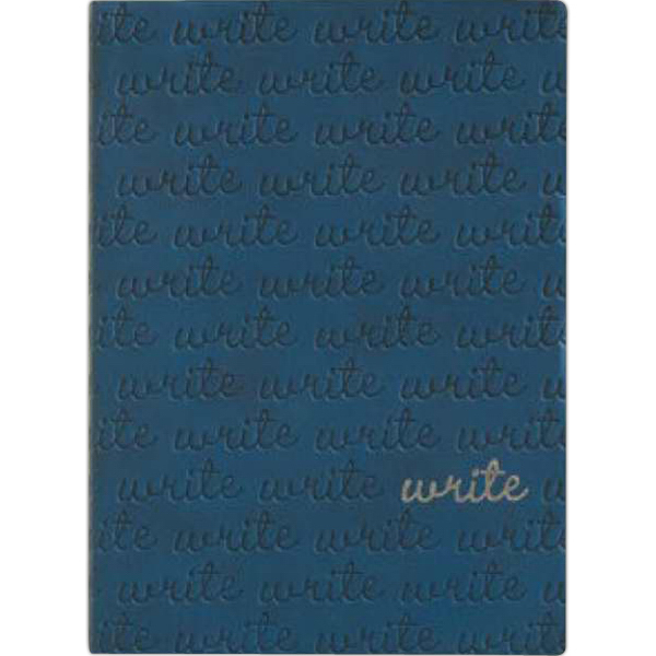 "Printed POP - WRITE - Blue - 5"" x 6.75"""