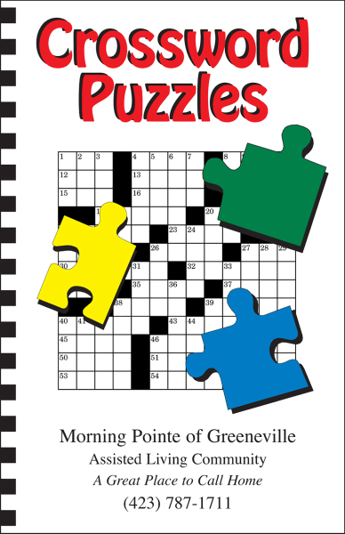 Promotional Puzzle Book - Crossword