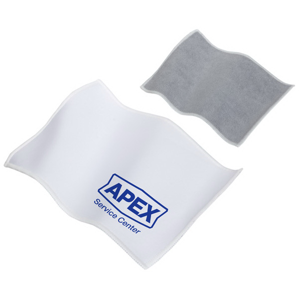 Printed Quick Clean Dual Sided Microfiber Cloth