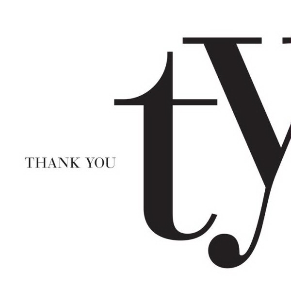 Promotional Quotation Book: TY-Thank You