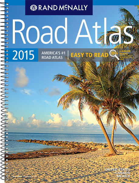 Printed Rand McNally: Atlases: 2015 ROAD ATLAS MIDSIZE EASY TO READ