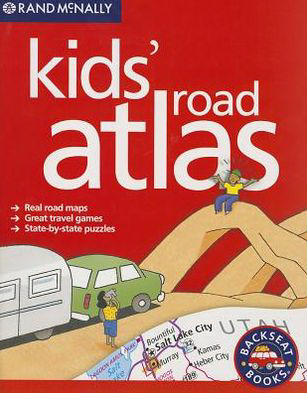 Personalized Rand McNally: Atlases: Kids' Road Atlas